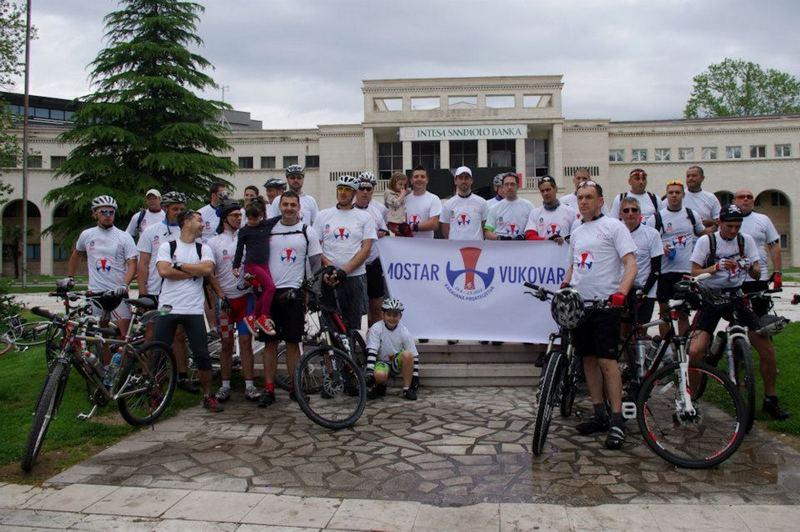 V. biciklistička karavana prijateljstva Mostar - Vukovar 2017.