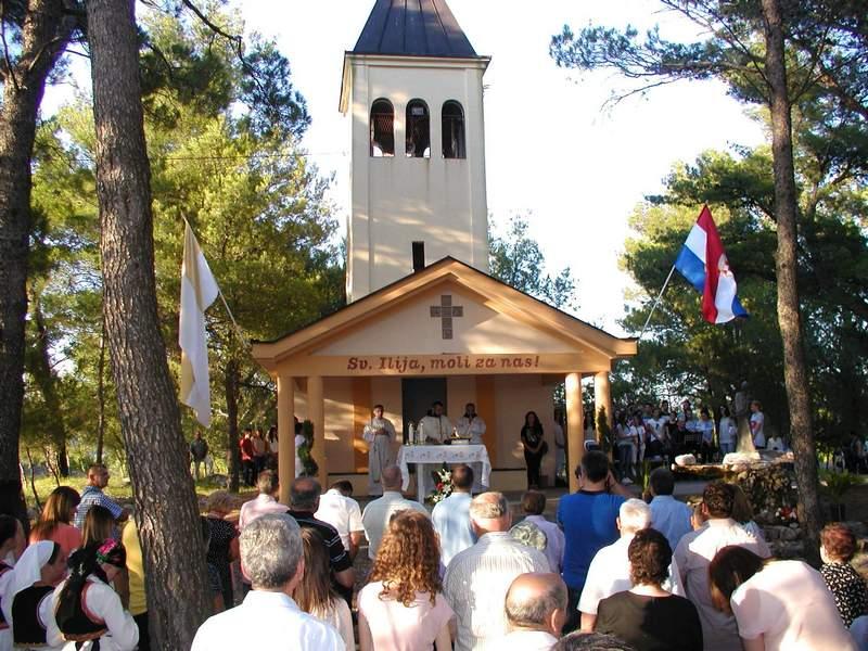 Najava: Proslava sv.Ilije na Gradini u župi Čerin