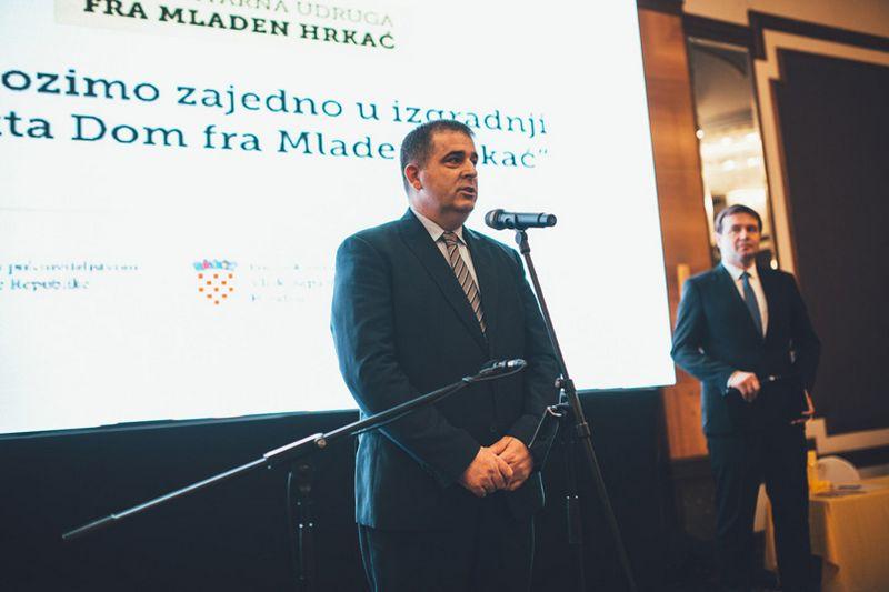 "Održana donatorska večer ""Pomozimo zajedno u izgradnji objekta Dom fra Mladen Hrkać"""