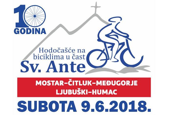 Deseto biciklističko hodočašće u čast sv. Ante Padovanskoga