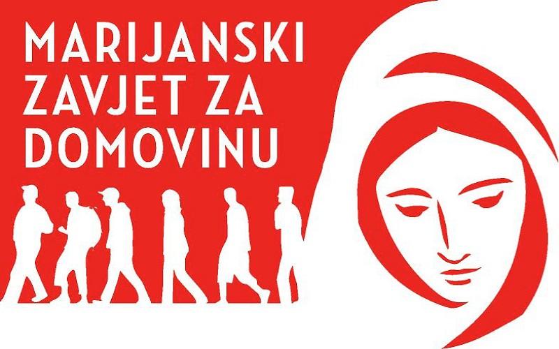 Iz Šumanovaca kod Gunje krenulo zavjetno hodočašće Marijanski zavjet za Domovinu