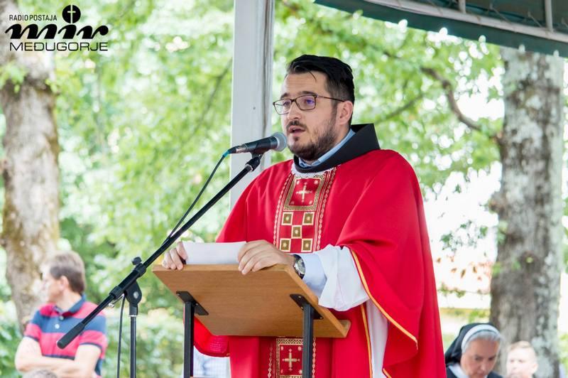 Propovijed fra Gorana Azinovića na svetkovinu sv.Jakova u Međugorju