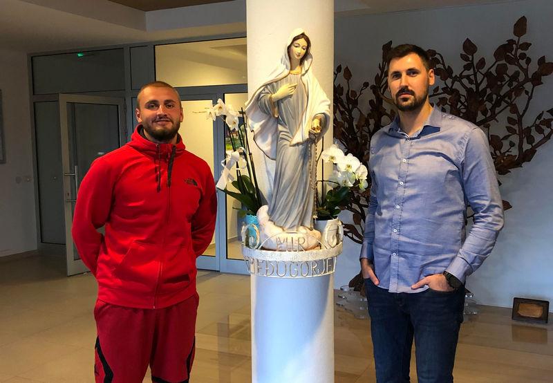Boris Šimić stigao pješice iz Kreševa u Međugorje: Mlad čovjek mora vjerovati u Boga