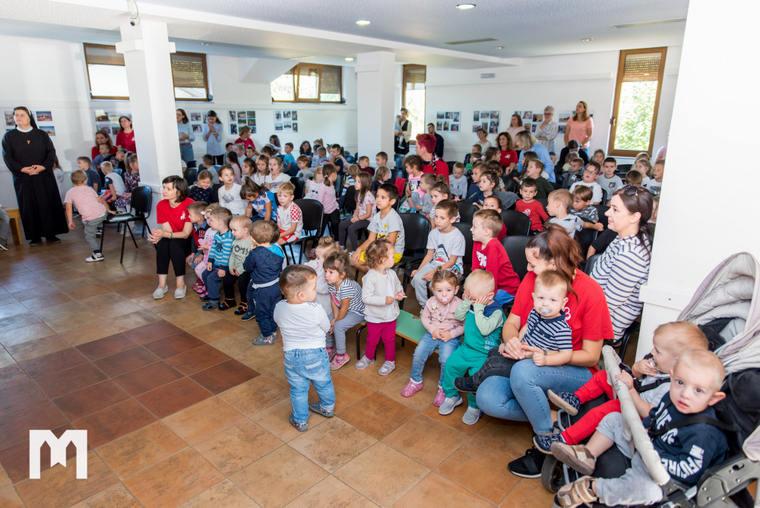 Proslavljen dan vrtića 'Sveta Mala Terezija' u Majčinom selu u Međugorju