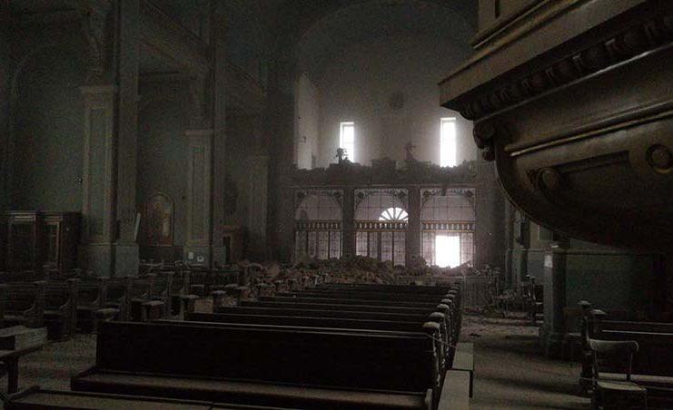 U oštećenoj bazilici Srca Isusova u Zagrebu grob i slika Ivana Merza netaknuti