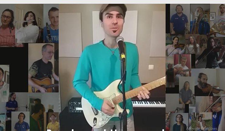 Ivan Musa govori kako je nastalo virtualno okupljanje za pjesmu Hosana
