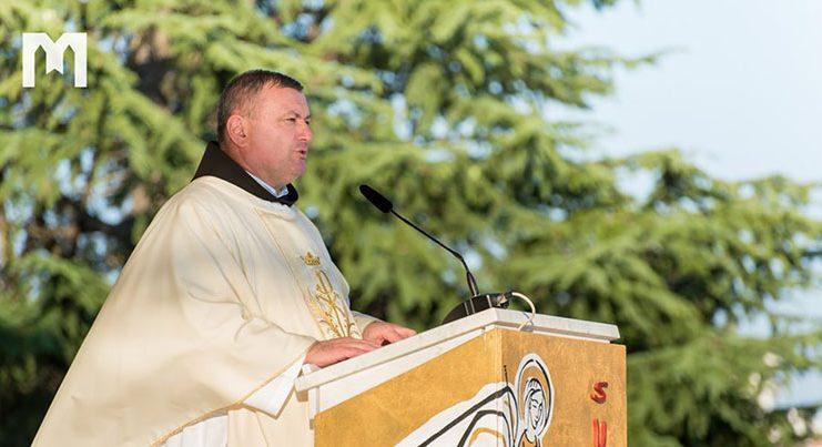 Fra Danko Perutina u Međugorju: 'Mi trebamo biti molitva, radost, nositelji svjetla...'